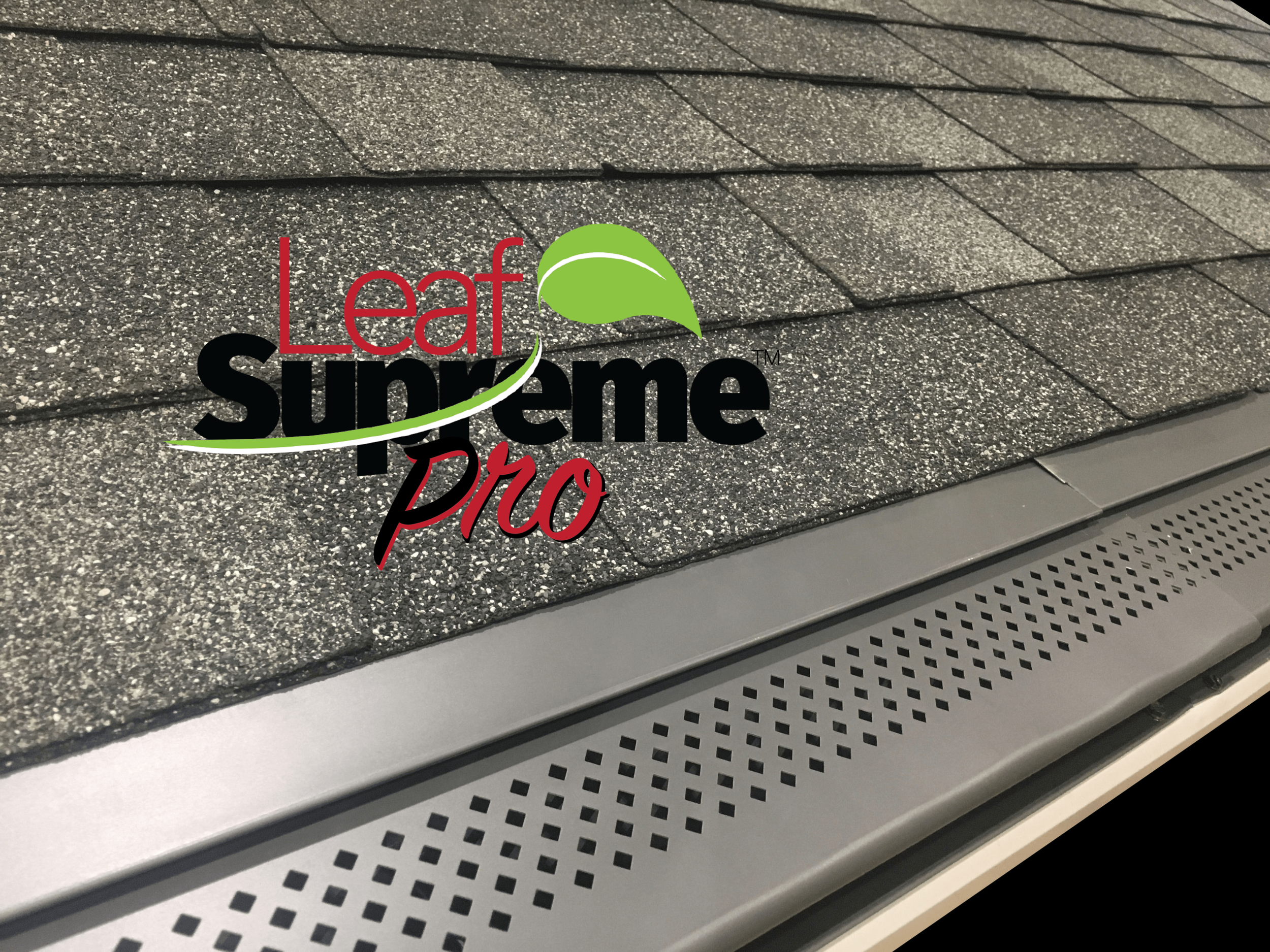 Leaf Supreme™ Pro Installed in Charcoal