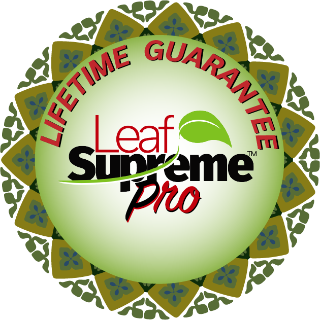 Leaf Supreme™ Pro Lifetime Guarantee Sticker