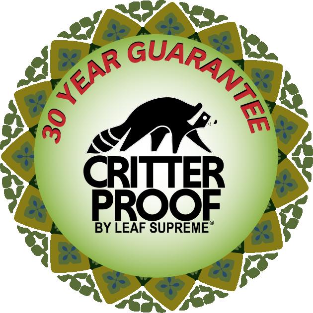 CritterProof 30-Year Guarantee Sticker