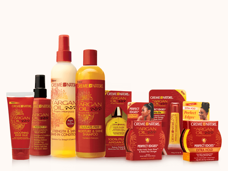 About - Revlon owned Creme of Nature has been a consumer favorite for over 40 years. Today, this innovative haircare brand continues to expand in popularity both domestically and internationally. Its Creme of Nature with Argan Oil from Morocco and Pure Honey lines are amongst the newest collections that we have had the pleasure to share with top hair publications and the beauty community.