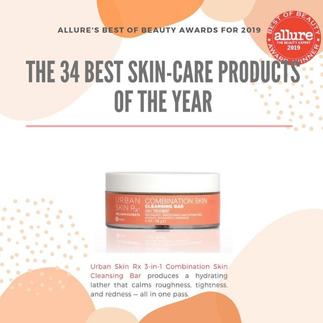 "Best of Beauty is right! So grateful that our client's @UrbanSkinRx Combination Skin Cleansing Bar was rewarded as a winner in the @Allure Best of Beauty Awards ""The Best Skin: Bar Facial Cleanser!"" Accolades such as these remind us of how much our hard work pays off and continues to push us to stride for more greatness!  #FirstandLastPR #beautypr #publicrelations #Allure #AllureBestofBeauty #UrbanSkinRx"
