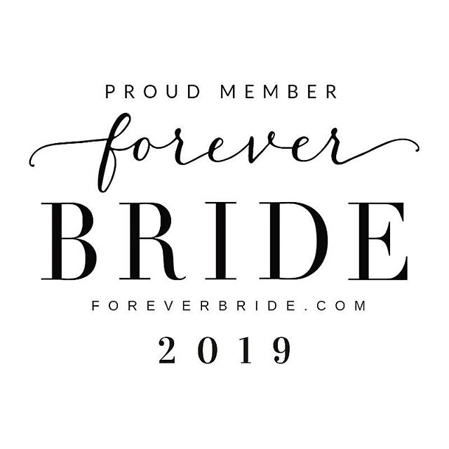 It has been an honor to be a part of this group I call my work family! ♥️#foreverbride it has been amazing watching you grow along side my business. This family has given me such confidence in building Vendor friendships which in return has EXPLODED my business into the wedding industry! Thank You #foreverbridetribe