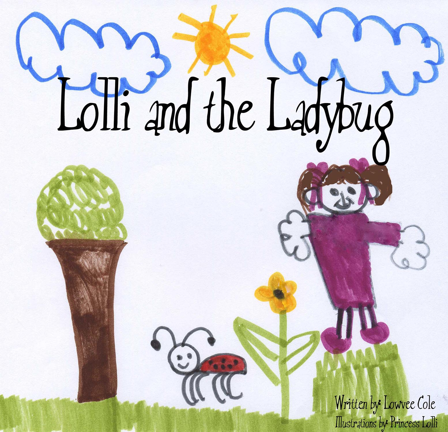 Lolli and the Ladybug - A young girl named Lolli meets an adorable little ladybug friend who teaches her that living life to the happiest and fullest means traveling OUTSIDE the glass jar.*Recommended for girls ages 3-6*