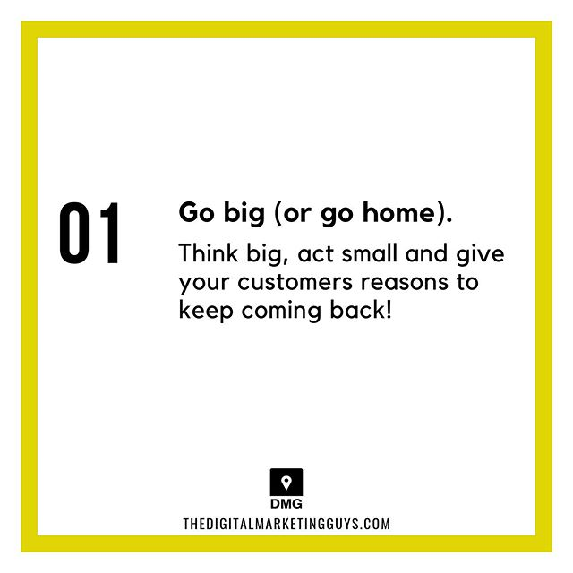 Rule 101:⠀ GO BIG OR GO HOME!⠀ ⠀ What's your number 1 rule?⠀ Follow @digitalmarketingguys⠀ www.thedigitalmarketingguys.com⠀ .⠀ .⠀ .⠀ .⠀ .⠀ .⠀ #makemoney #makemoneyonline #makingmoney #digital #digitalnomad #digitalnomads #startups #businessowner #startup #businesstips #businessowners #entrepreneurs #hustle #hustleharder #buildanempire #hustlers #marketing#socialmediamarketing #design #sales#selling #income #incometips#incometip #smallbusinessowner #onlinemarketing #digitalmarketing⁣⠀ ⠀