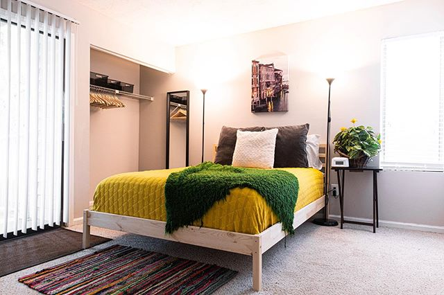Say what!? - We're opening up more short-term rental opportunities in Greenville, South Carolina this August!? - You bet'cha! - But for now, here's our beautiful updated bed-frame in the Casa Burma master. - @ikeausa just understands us.