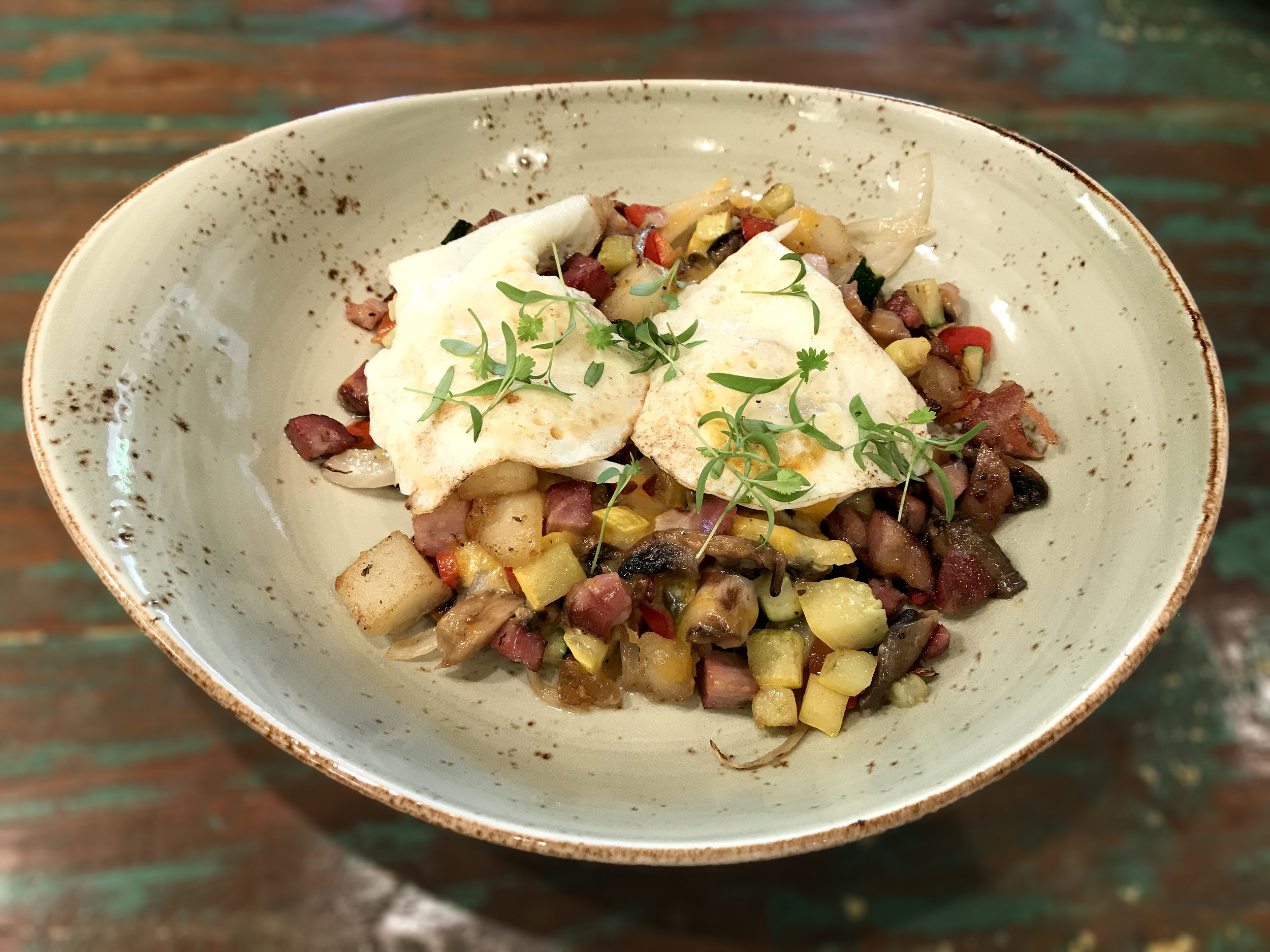 Smoked Meat Hash