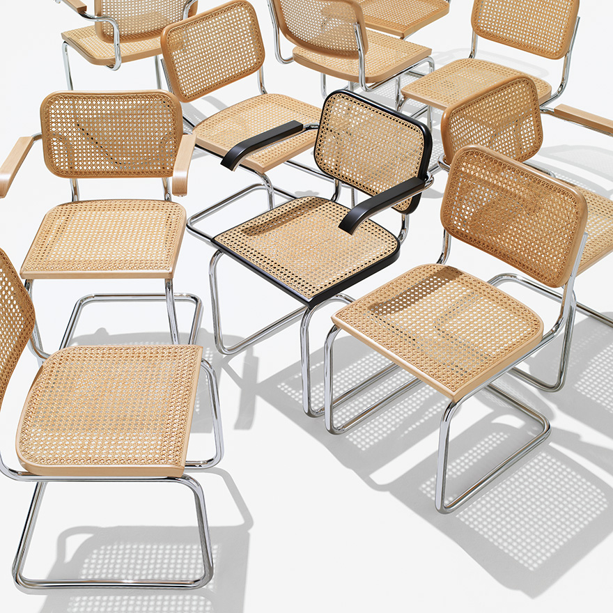 The Cesca Chair by Marcel Breuer