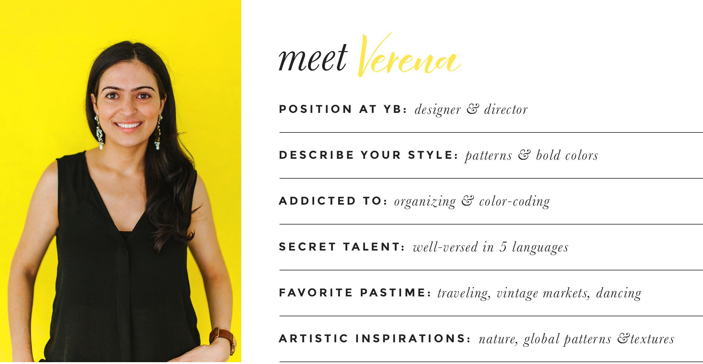 Meet Verena Dalati Salmé designer and director of Yellow Bungalow Interior Design Studio