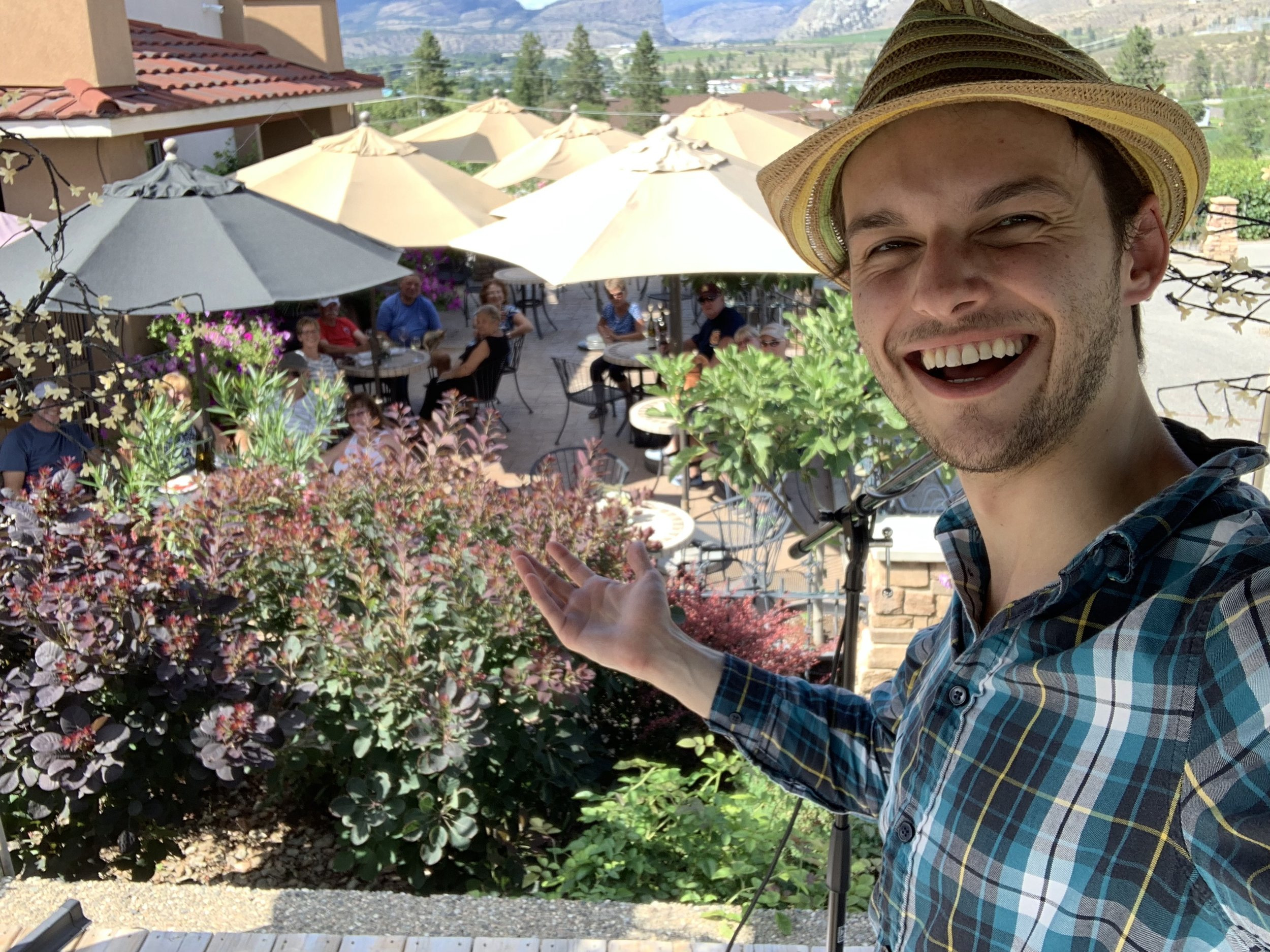 Quinta Ferreira Estate Winery - July 2019, Oliver BC