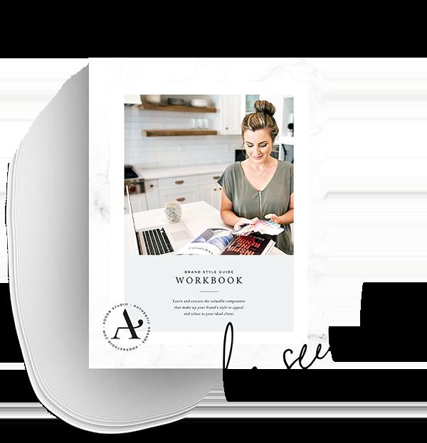 Brand Style Guide Workbook | Adorn Studio