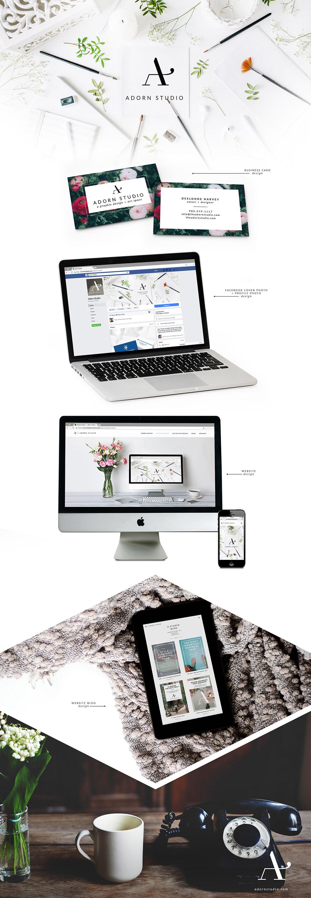 Adorn Studio | Innovative and Minimalist Graphic Design