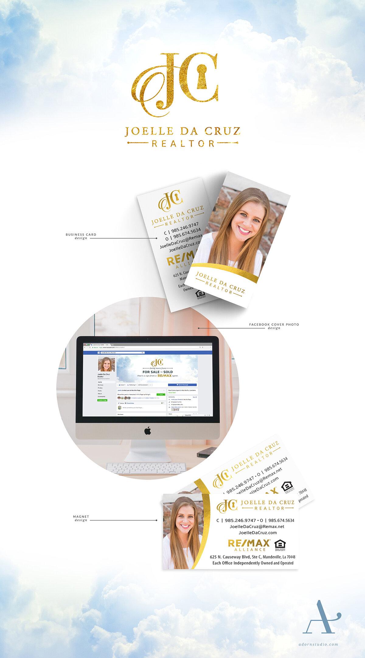 Adorn Studio   Innovative and Minimalist Graphic Design   Joelle da Cruz Branding   Remax Alliance Realtor