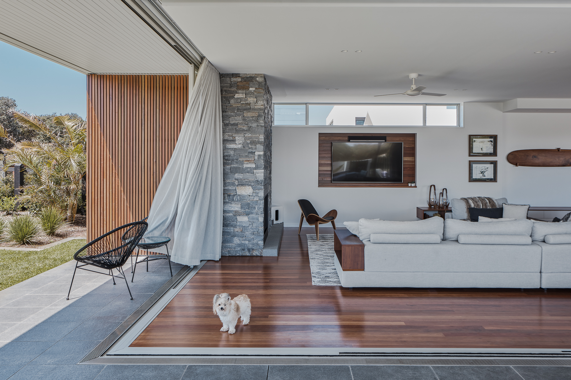 Echo Lane Fireplace by Create Architecture