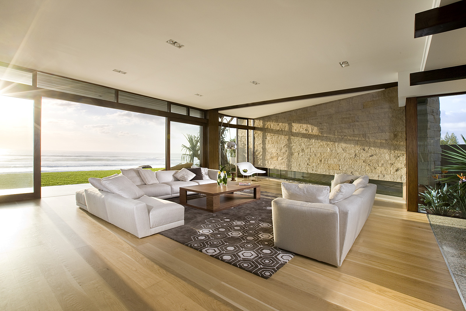 Albatross Fireplace Wall by BGD Architects