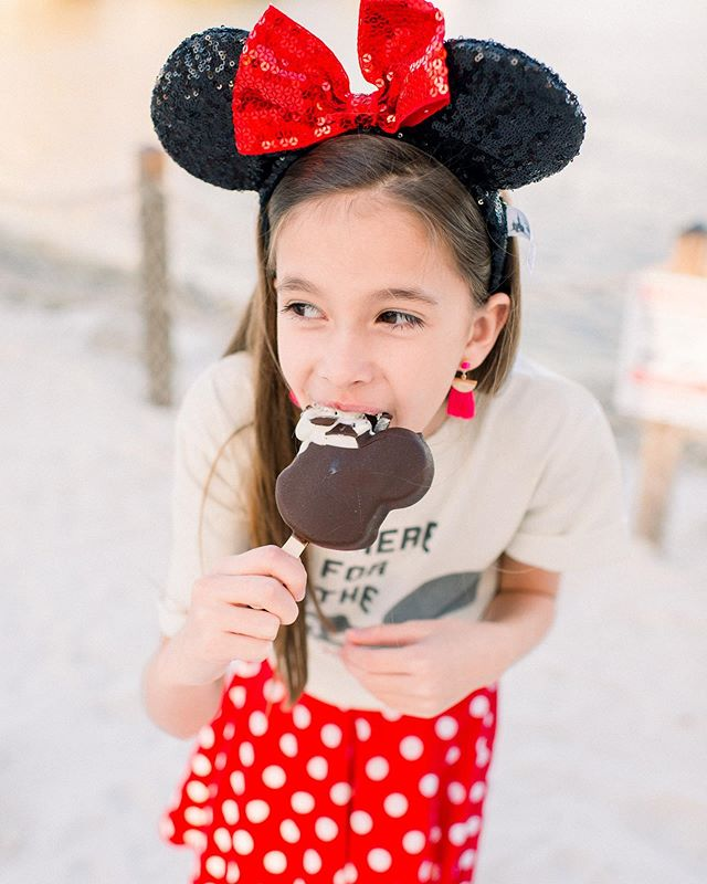I'm pretty much convinced that a Mickey bar is the ONLY way to beat the Florida heat this summer. Anyone with me? 🍦♥️
