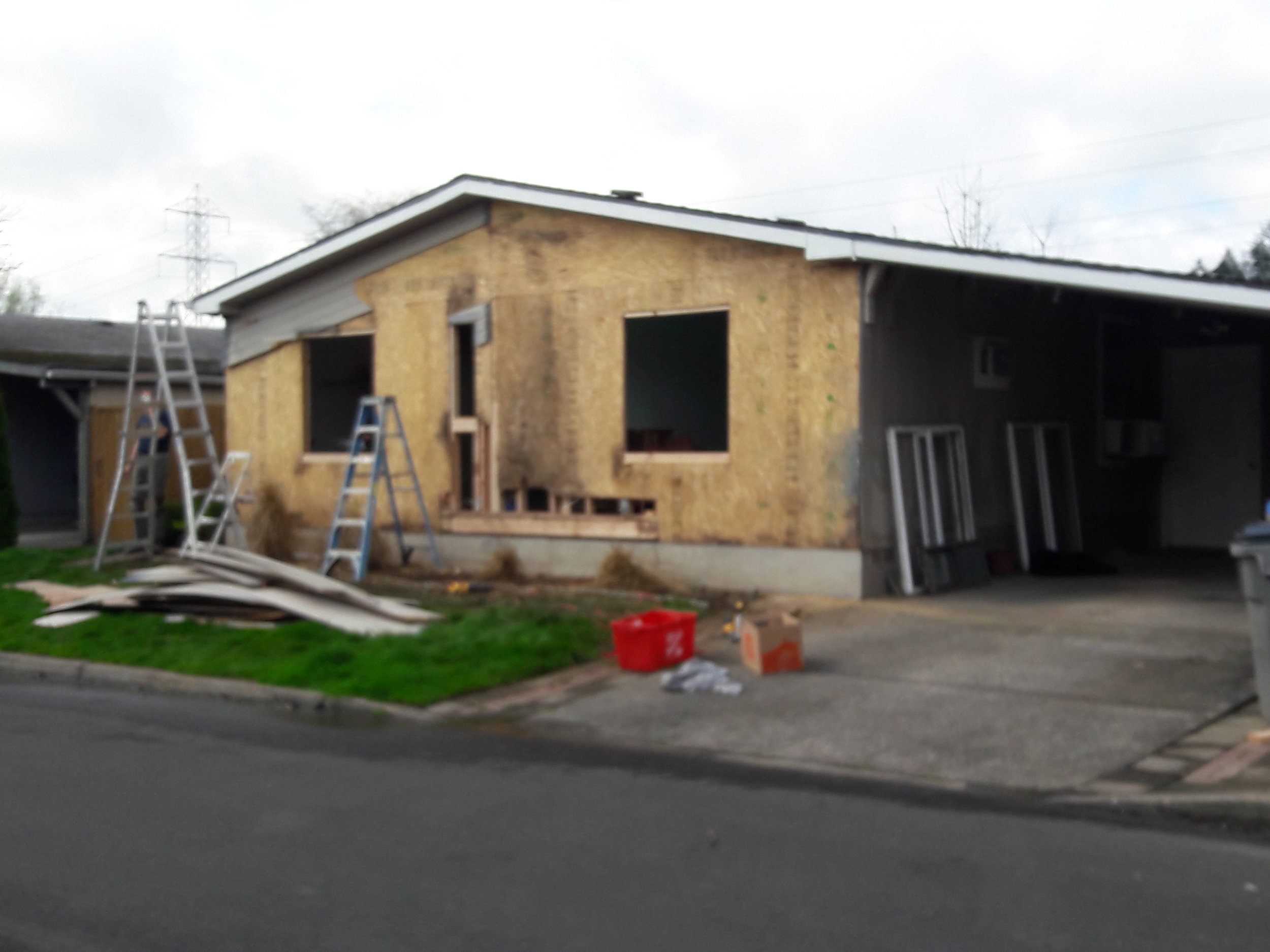 Home Renovation: Before