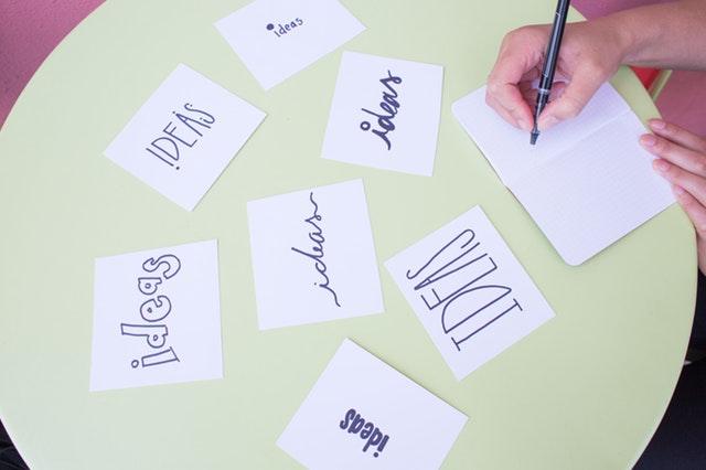 brainstorming story ideas