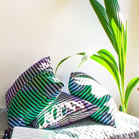 Go bold or go home - the eco cushions making a sustainable style statement - eco home, eco-friendly home, green home