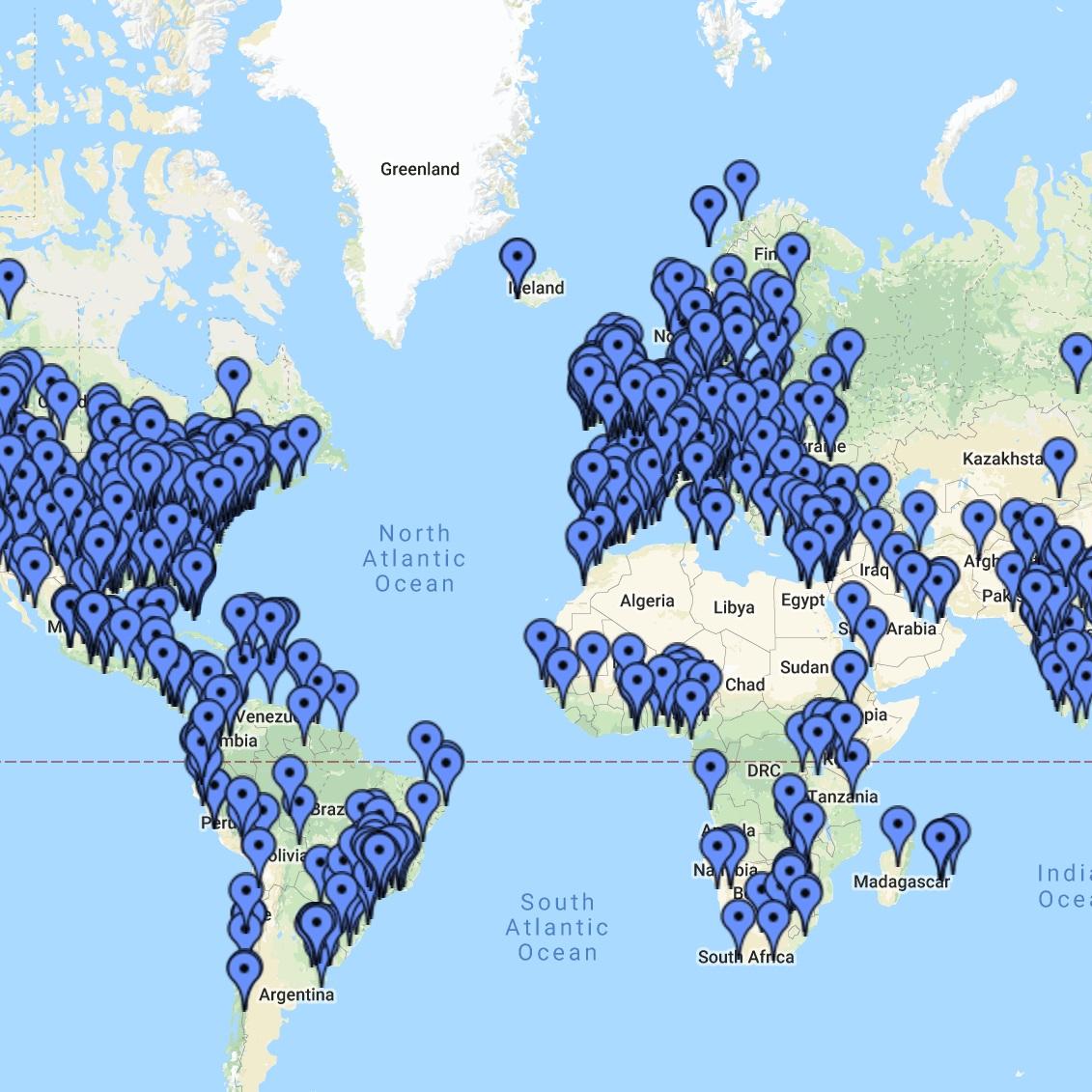 Comunidad Online - Tenemos miembros de nuestra comunidad a lo largo del todo el mundo y de todos los sectores de la vida. ¿Cómo nos encontramos?Todos los participantes del Curso de Compasión pueden ser parte de nuestro grupo privado de Facebook y su foro. Ambos son una forma genial de mantenernos conectados con nuestra comunidad 24/7. Este año añadiremos contenido en video también.Los participantes que comparten sus experiencias con el curso obtienen un aprendizaje más profundo, apoyo, inspiración y diversión.Haz click aquí para ver nuestro mapa interactivo completo