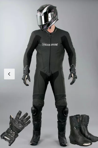 Motorcycle Gear - The following are items are paraphrased, each rider must make themselves aware of the current rules as stipulated by Motorcycle QLD;- Suits must be leather suit. Can be two piece jacket and pants, but not be able to seperate in a fall.- Full finger leather gloves- High boots that cover the ankles and calves. It must be made of a leather material.- Full face Helmet that is or exceeds, Australia Standard AS/NZS 1698:2006.