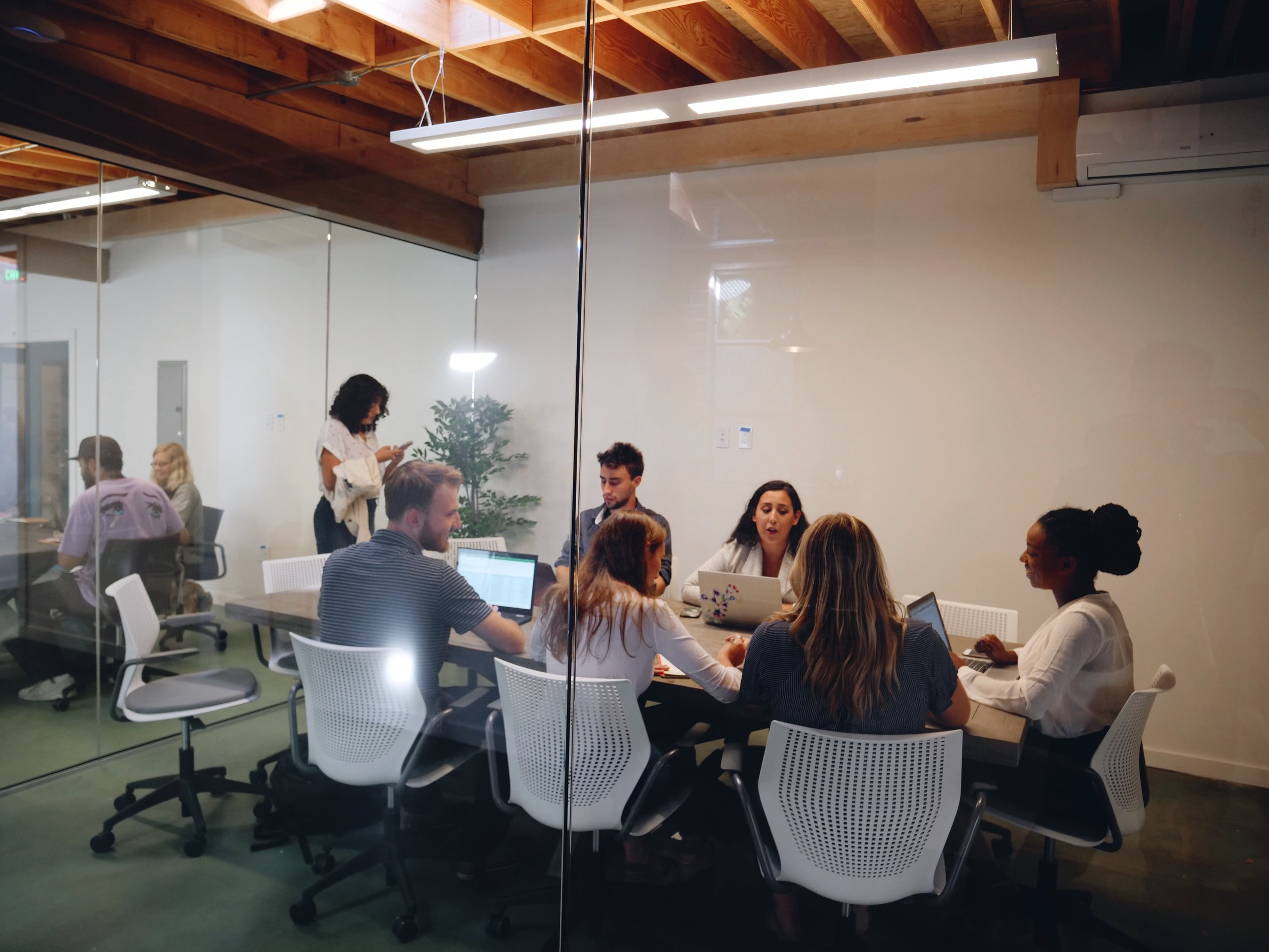 Private Office - Secured glass enclosed office perfect for teams of 2-6. Starting at $1,500/mo