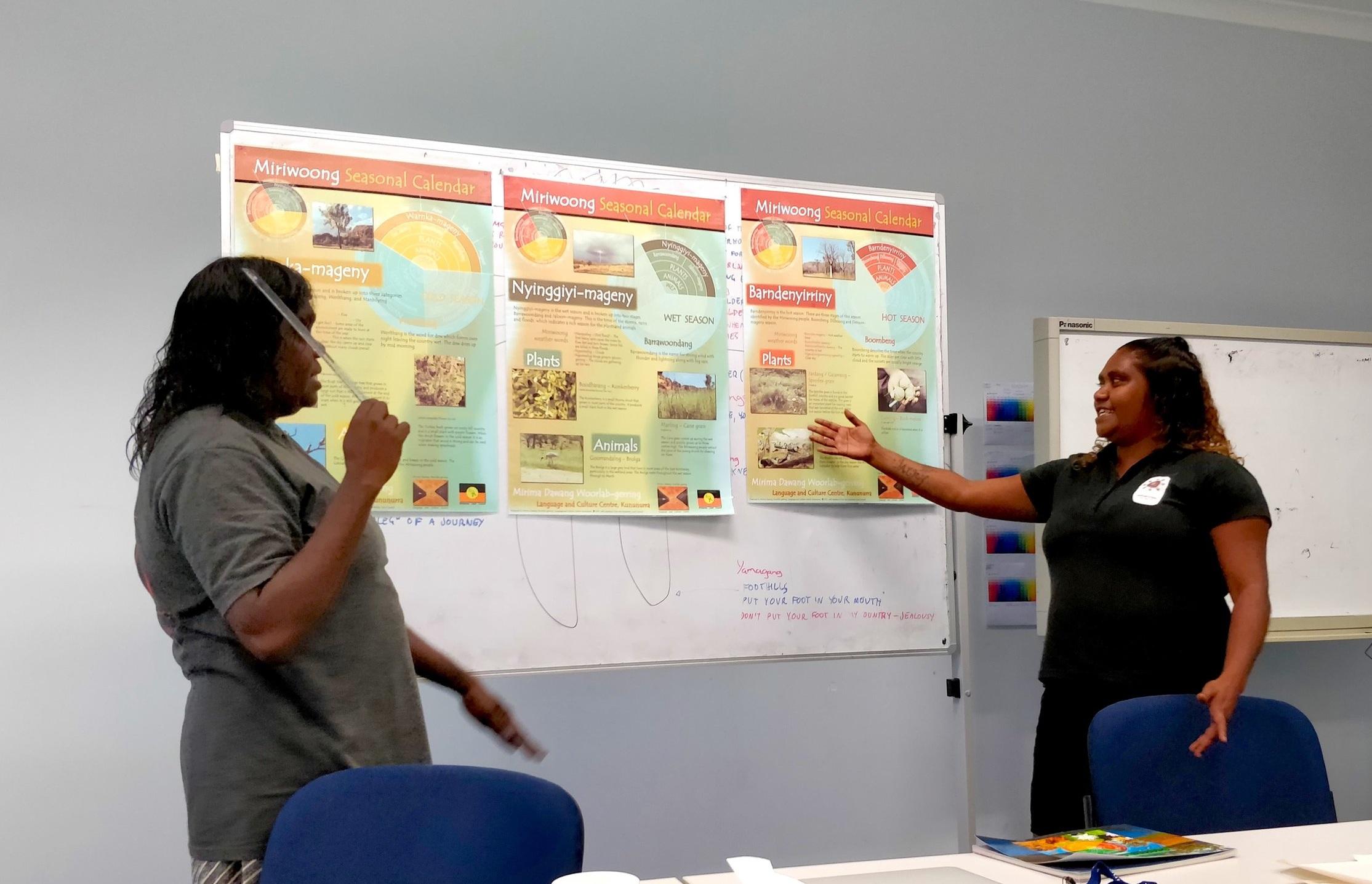 Public speaking & language advocacy -