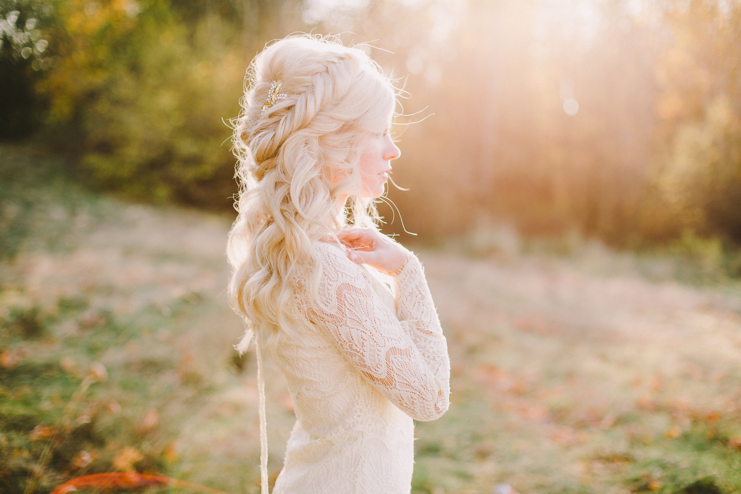 Bridal Team - Skin focused airbrush makeup paired with romantic hair styling, our bridal team is here to kick your wedding day off to a relaxing start!