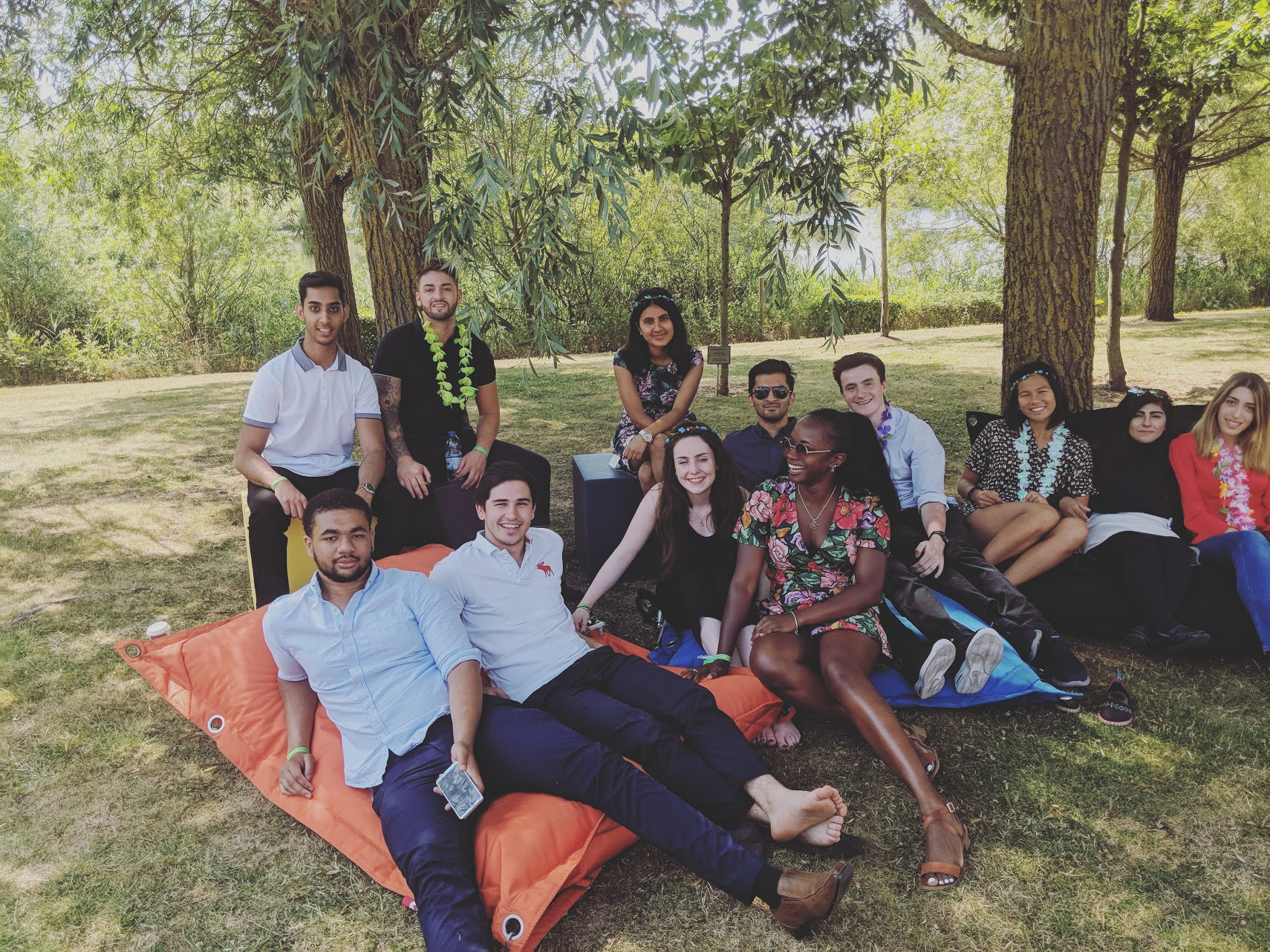 Summer internship cohort - only possible because of the skills developed during my placement year