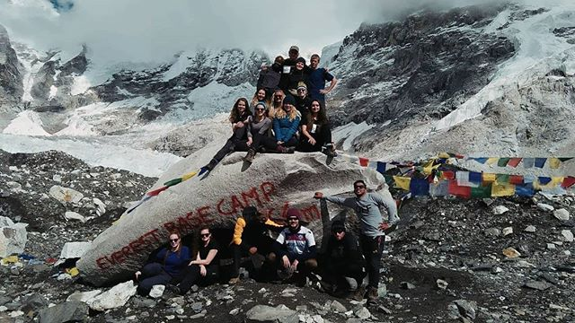 """I recently returned from my trip to Nepal where I trekked to Everest Base Camp with a group of other students. It has been my biggest challenge yet, but through perseverance, a positive mindset and incredible support from my team members I was able to overcome the obstacles that came my way and made it all the way to Base Camp. All the while I reminded myself to """"be myself, but braver"""". This meant pushing myself beyond my boundaries, because sometimes the only person standing in your way of achieving something is yourself.  Have a read of my latest blog post (link in bio) about my time in Nepal and what I learned along the way ☀️"""