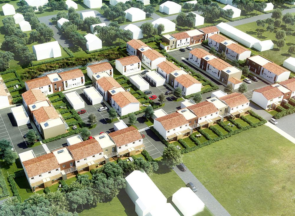 LES JARDINS DE LA FONTAINE - 86 logements