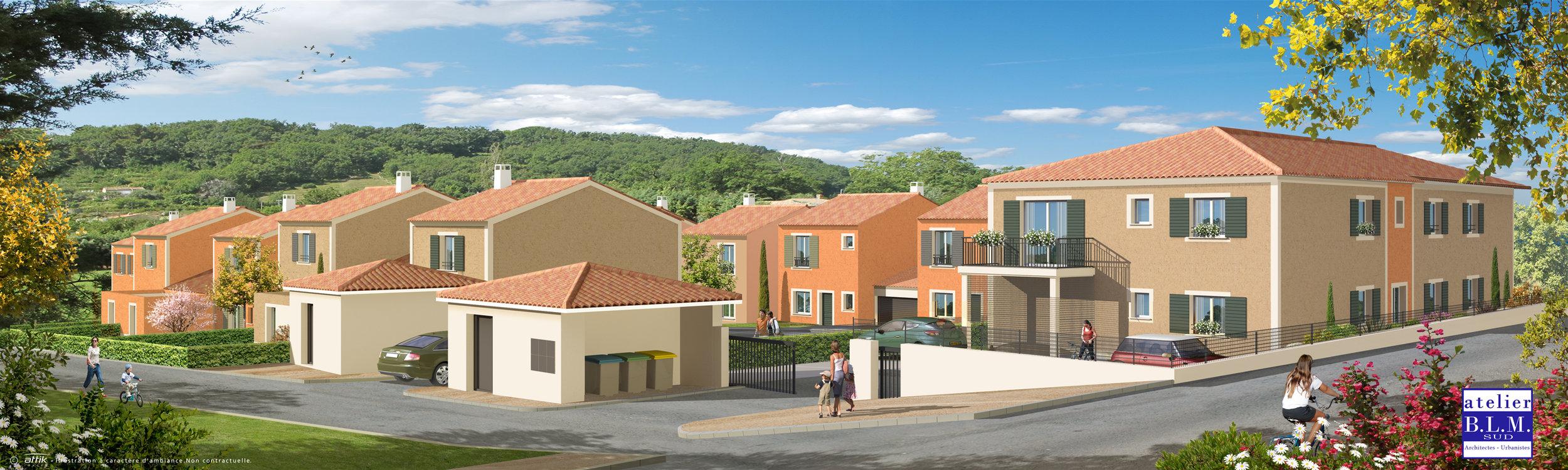 LES VILLAS DE CHÂTEAUNEUF - 26 logements