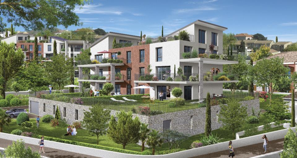 LES BALCONS DE LA MER - 36 logements