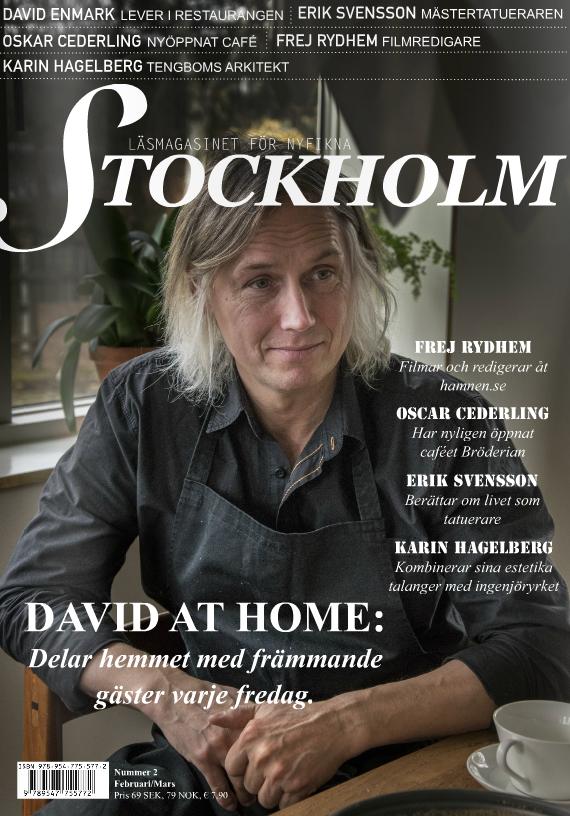 Tidning för nyfikna Stockholmare. Text: Saga Långdahl