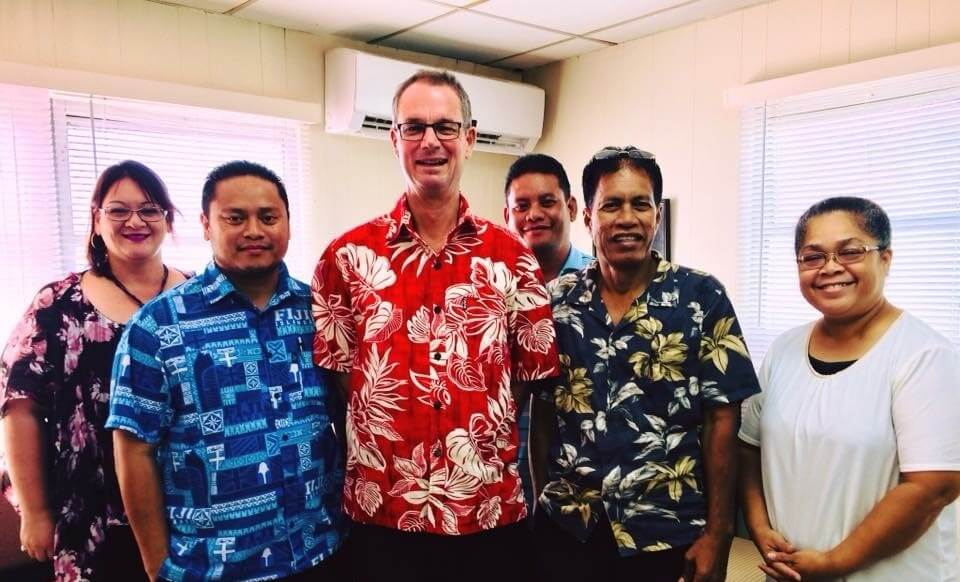 Dr Paul Beumelburg - Working with communities to improve education in the Marshall Islands