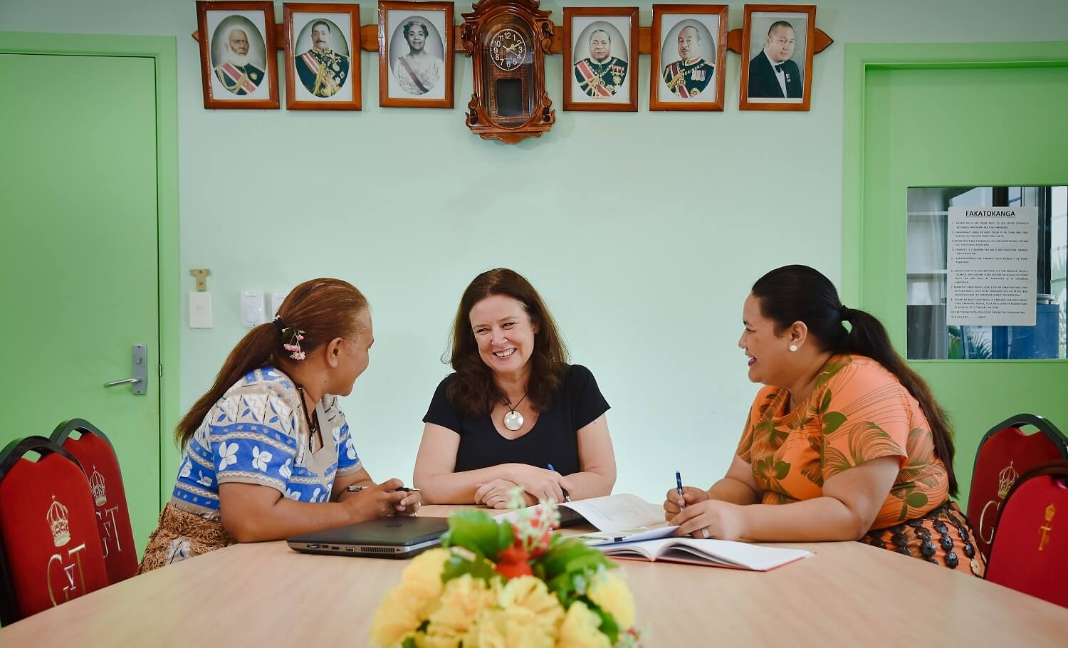 Julie Bowen - Supporting the transformation of the health system in Tonga
