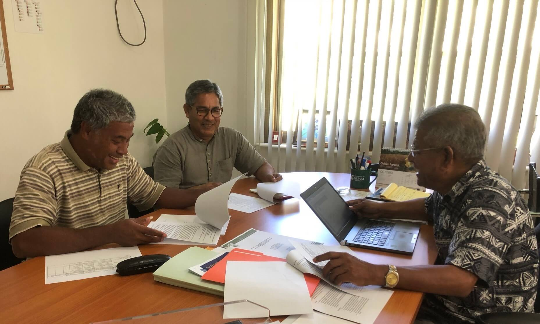 Dr Vishnu Karki - Improving education in Micronesia