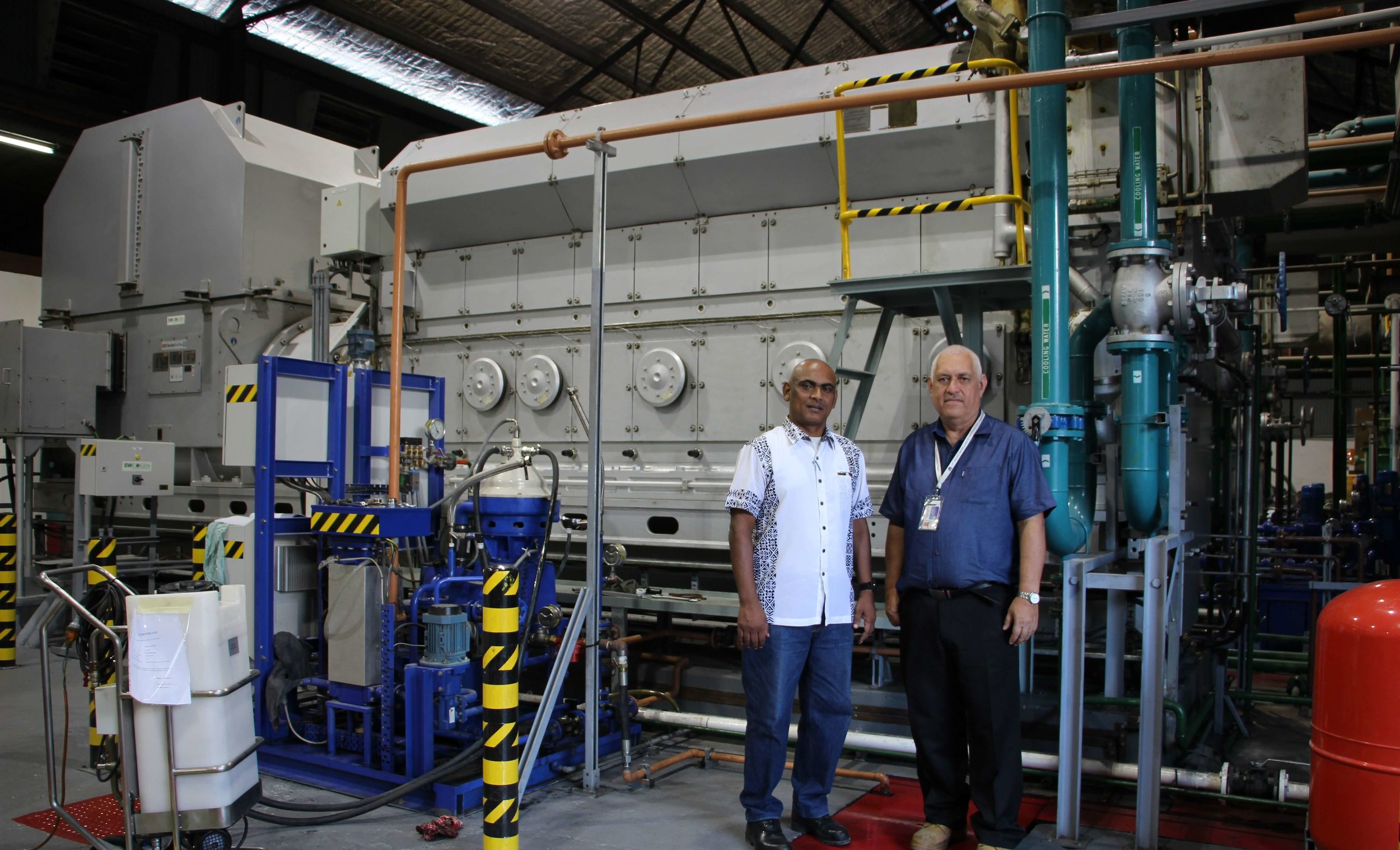 Abraham Simpson - Improving electricity and water services on Nauru