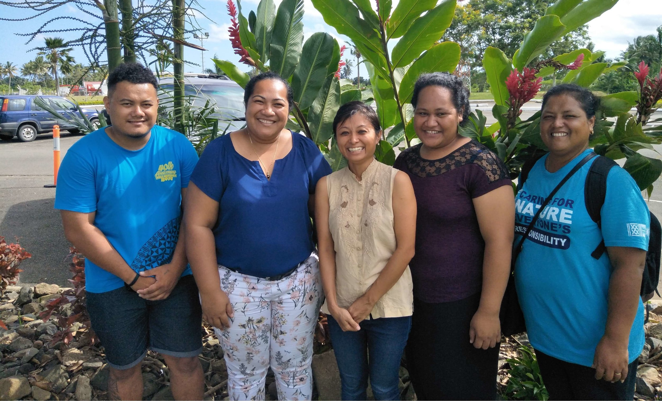 Kate Morioka - Reducing the effects of climate change and natural disasters in Tuvalu