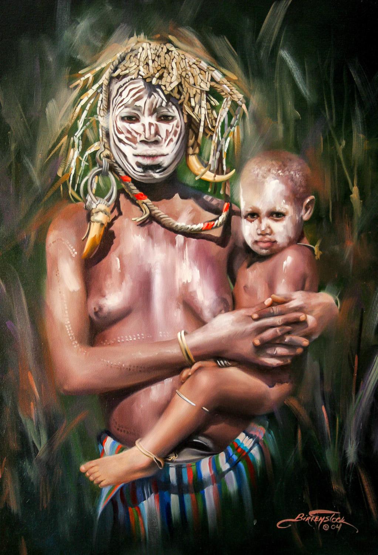 Mursi Mother