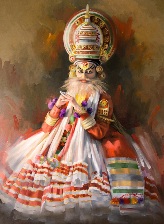 Kathakali Character