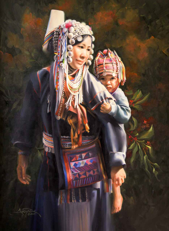Akha Mother