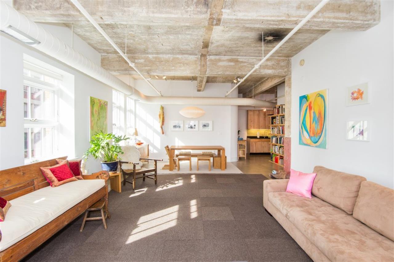 140 Bay Street artist work-live space loft apartment