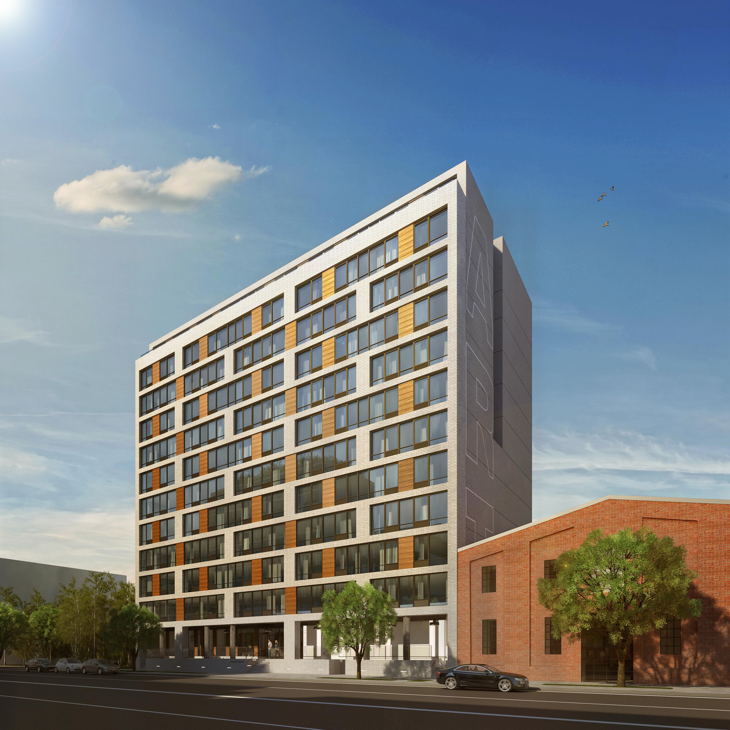 Designed by   Fogerty-Finger Architects    |  Executive Architects by  LWDMR Architects