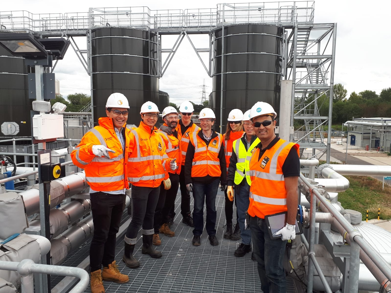 Airsquire and MWH Treatment at water treatment plant