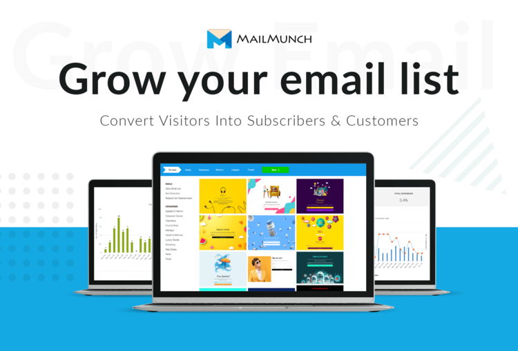 mailmunch grow your email list