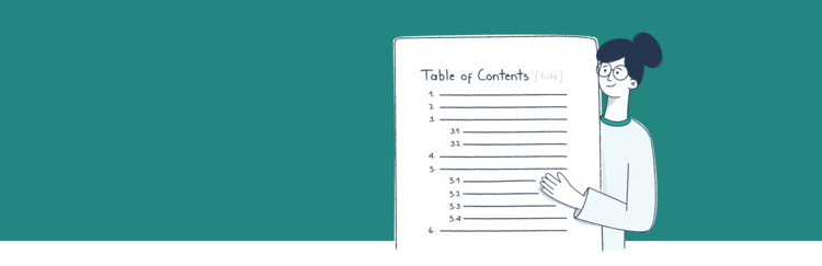 table of contents plugin