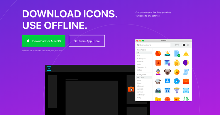 download icons app
