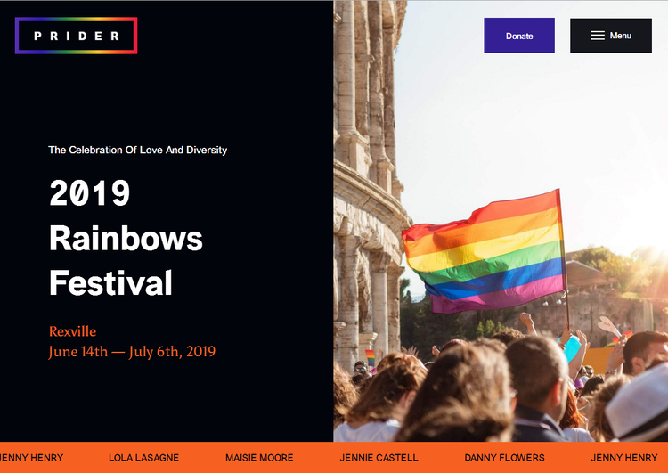 prider gay wordpress theme