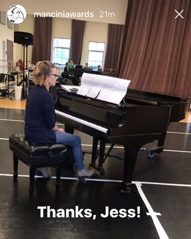 Played piano for the Audition Workshop for the @manciniawards at Lincoln Park! Loved accompanying these talented kids. 🎹🎼