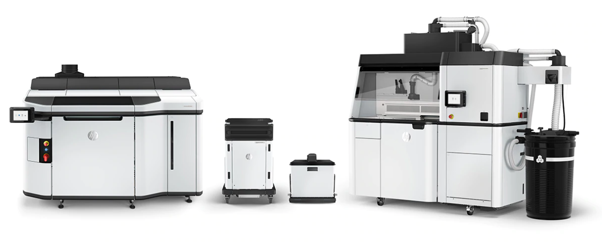 HP Multi Jet Fusion 5200 Series 3D Printer - HP's Most Advanced Plastics 3D Printing Solution for Mid-Level Production